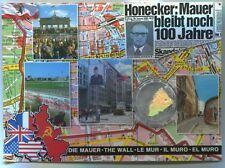 Germany Original Piece of The Berlin Wall Size S 2 cm in Postcard Berlin