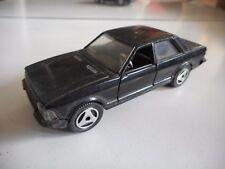 Hotwheels Ford Granada in Black on 1:43