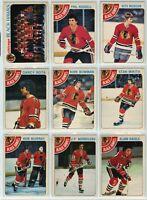 1978-79 OPC Chicago Blackhawks 18 Card Team Set VG to NM (04-03202020)
