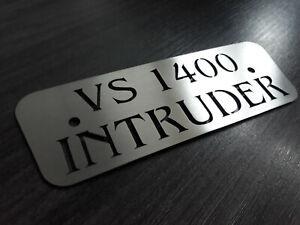 Suzuki VS 1400 Intruder VA Schriftzug Luftfilter Blende Abdeckung Custom Cover !