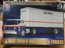 Model Kit - AMT ERTL US Mail Truck and Van PK-8402  #31819 Factory Seal