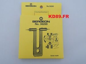 Bergeon 30209 Screw extractor With 2 driving pins No 30209-C SWISS MADE