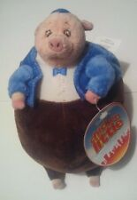 """NEW With Tag Disney Store Exclusive Chicken Little Runt Pig Plush 9"""" Stuffed"""