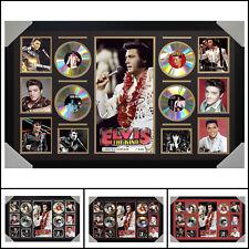 Elvis Presley 4 CD Signed Framed Memorabilia Large - Multiple Variations - V1