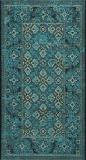 "Turquoise / Cream Safavieh Power loomed Palazzo Area Rug - 2' X 3'-6"""