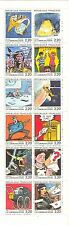 France #2099a, 1988 Cartoons - Angouleme Festival Prize Winners, BP12 Unused NH