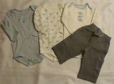 Gymboree Brand New Baby Boys 3-6 Month Dinosaur Bodysuits Grey Pant Outfit NWT