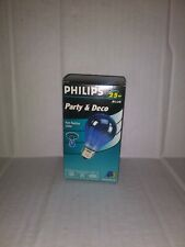 Philips Party & Deco 25W blue Bulb, New in Package free ship