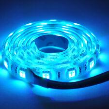 5M LED Strip Lights Flexible DIY 300LED 5050 SMD DC 12V Blue Lamp Waterproof