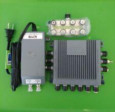(NEW) DIRECTV SWM8 Multi-Switch SWM8R1 + Splitter + 29V Power Supply