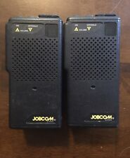 2) Ritron Jobcom Jmx-441D Commercial/Business Uhf Handheld Radio Transceivers