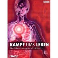 "BBC ""KAMPF UMS LEBEN"" 2 DVD NEU"