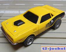 für H0 Slotcar Racing Modellbahn -- Plymouth Hemi Cuda mit AFX Motor