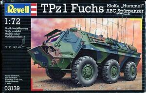 """Revell Germany #03139 1/72 TPz1 Fuchs EloKa """"Hummel"""" ABC Spurpanzer"""