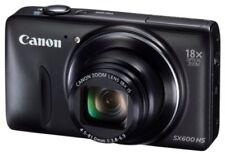 Canon Digital Camera Power Shot Sx600 Hs Black 18X Optical Prism Pssx600Hs