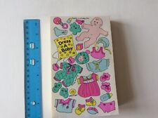 Large Sticker Book// Album over 100 Stickers Sealed Sandylion Vintage Scobby-Doo