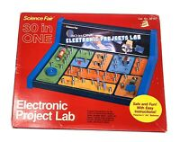 Vintage Science Fair 30 In One Electronic Projects Lab Radio Shack No 28-161