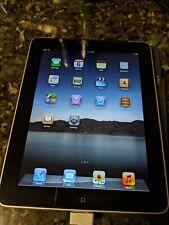 Apple iPad Wi-Fi + 3G (Original/1st Gen) 64GB A1337 Bundle W/ Case and Cable