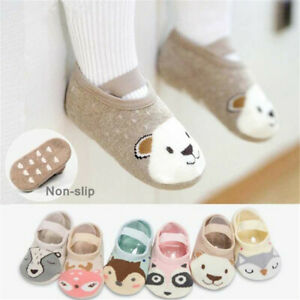 Cute Baby Toddler Shoes Cartoon Non-slip Cotton Floor Socks New