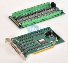 Leadshine Leadtech IOC0640 Motion Controller Card w/ ACC0640 Terminal Breakout
