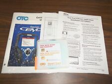 OTC Genisys Evo Super Bundle Software 2010 Domestic, 2010 Asian with Pathfinder