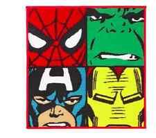 Nuevos niños Poliamida Marvel Comics Alfombra niños Alfombra de Sala de Personajes Marvel dormitorio Esteras