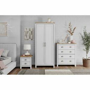 Brambly Cottage Liddle 3 Piece Bedroom Set (Set of 3) - White