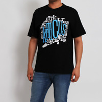 Mens T Shirt ATTICUS Crew Neck Short Sleeve Graphic Tee