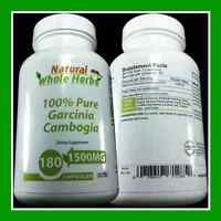 PURE 100% Garcinia Cambogia 1500MG - WEIGHT LOSS DIET - FASTEST FAT BURNER