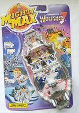 1992 MIGHTY MAX Mattel TERMINATES WOLFSHIP 7 Doom Zones Playset 1992 MOC sealed