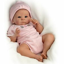 Ashton Drake LITTLE PEANUT baby girl doll by Tasha Edenholm