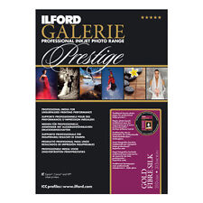 Ilford Galerie Prestige Smooth Gold Fibre Silk Inkjet Paper A4 50 sheets 310gsm
