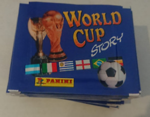 PANINI STICKER WORLD CUP STORY   (50 Loose Packs) Non Sonric