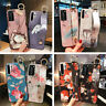 Patterned Relief Hand Strap Soft Case Cover For Xiaomi Poco X3 NFC Redmi Note 9S