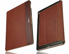 Bell & Head ® rock ipad pro 9,7 pulgadas, funda protectora cuero genuino cognac/marrón sleepfunktion