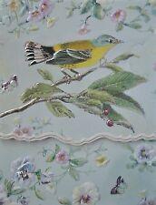 Carol Wilson Purse Pads Embossed Note Pad Walbler Bird Magnetic 90 Sheets