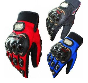 Cool Racing Gloves Motorbike Motocross Summer Fiber Bike Pro-Biker Motorcycle