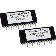 Ensoniq ESQ1 Os Version 3.5  Hidden Waves accessible ESQ-1 Eprom Upgrade