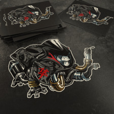 Sticker Suzuki Hayabusa Decal Emblems Motorcycle logo GSXR 1300