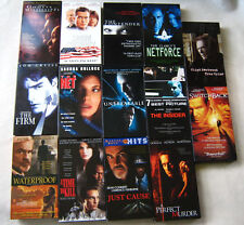 Vhs Drama Suspense Movie Collection Lot Clint Eastwood Al Pacino Sean Connery