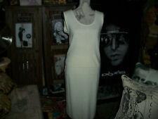 DONNA TORAN Sensational Ivory 2 Piece Dress Set Size L