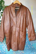 blouson manteau veste 3/4 caban CUIR T-2 TBEG jacket CUERO/LEATHER VINTAGE