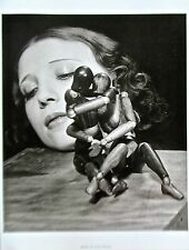 MAN RAY Mr and Mrs. Woodman Photographic Reprint 14x11 Offset Lithograph