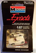 MICRO EXACTS MONOGRAM HO 1/87 FERRARI TESTAROSSA grise in BOX