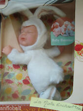 POUPEE DOUDOU ANNE GEDDES BEBE LAPIN BABY BUNNIES 20 CM BEAN FILLED SOFT BODY
