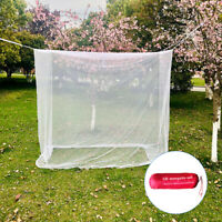 Insect Mosquito Fly Net Netting Indoor Outdoor Camp Portable White Bug Cover Net