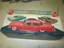 VINTAGE 1 25 MODEL BOX ONLY 1961 COMET BOX  RARE JUNKYARD PARTS  LOT