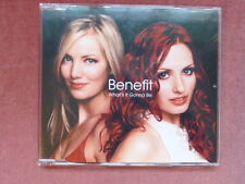 Benefit 'What's It Gonna Be' CD (2002)