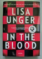 IN THE BLOOD LISA UNGER SIGNED 1ST HARDCOVER