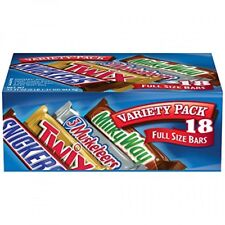 MARS Chocolate Singles Size Candy Bars Variety Pack 33.31Ounce 18Count Box